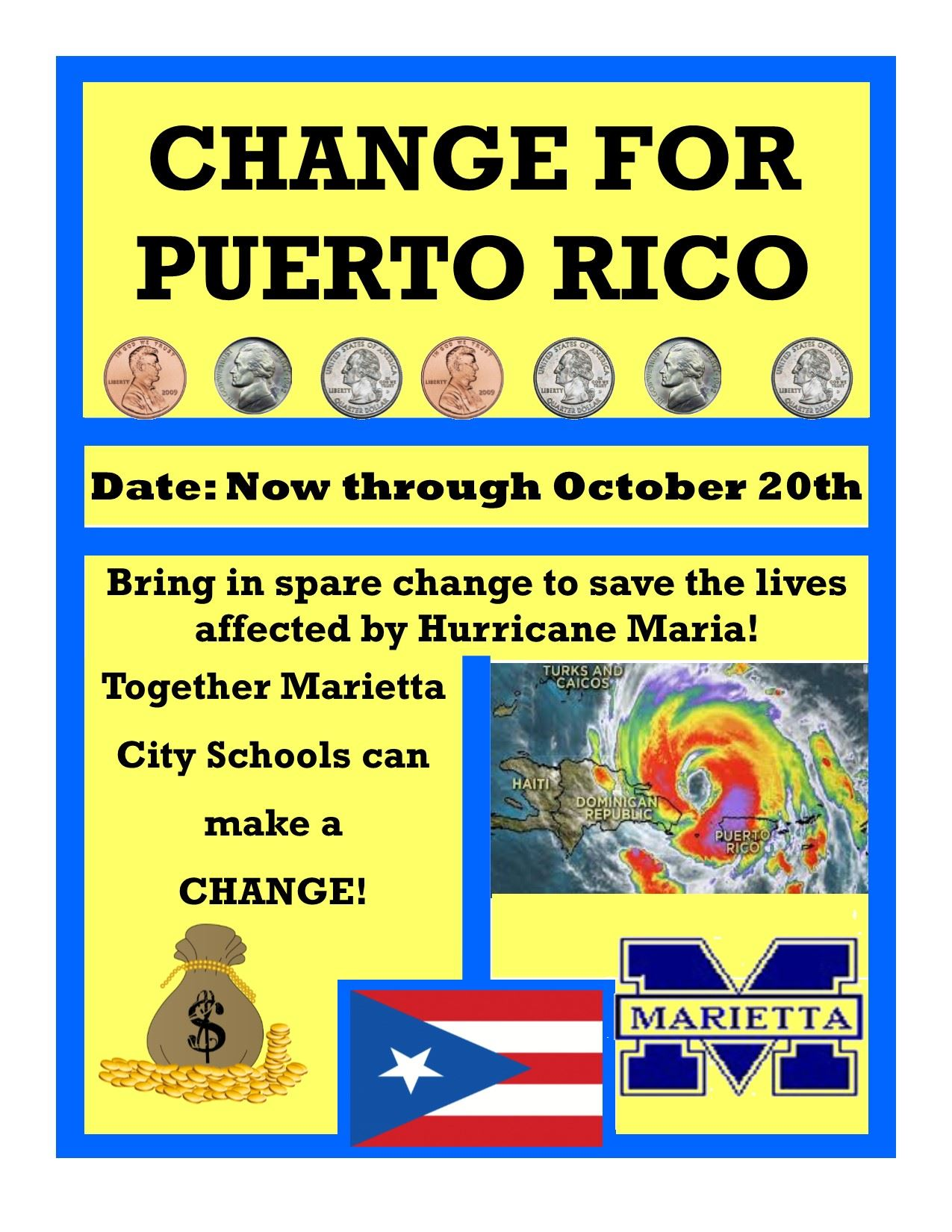 Change for Puerto Rico Fundraiser