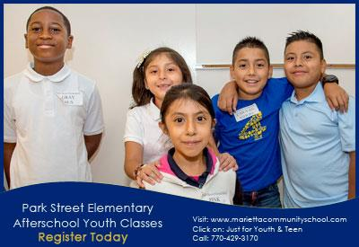 Park Street Afterschool Youth Classes