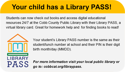 Image result for cobb county library pass