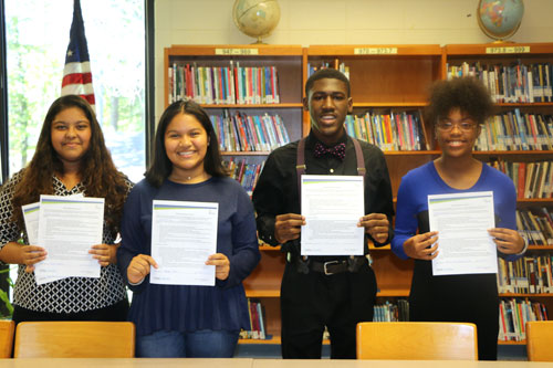 Marietta Middle School's Newest Georgia REACH Scholars