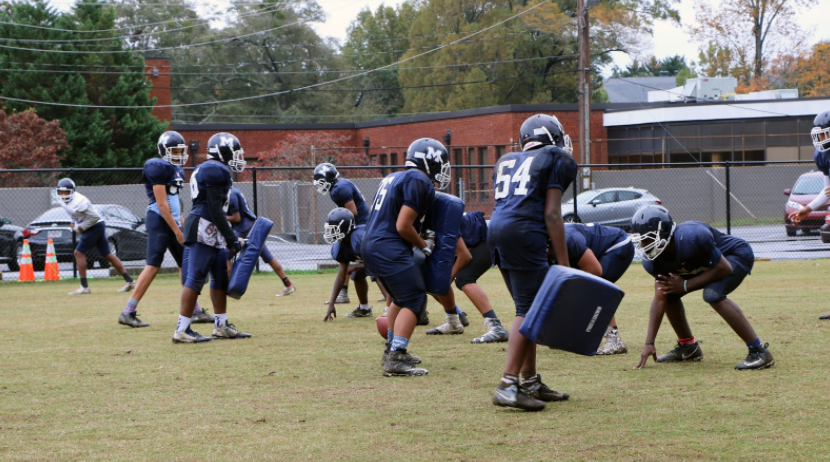 Marietta Middle School Football Team Headed to the State Championship