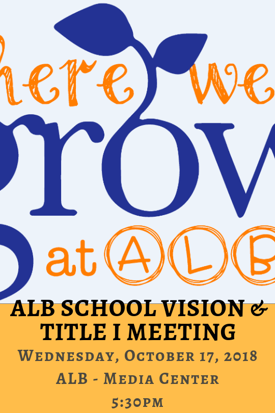 ALB School Vision & Title I Meeting