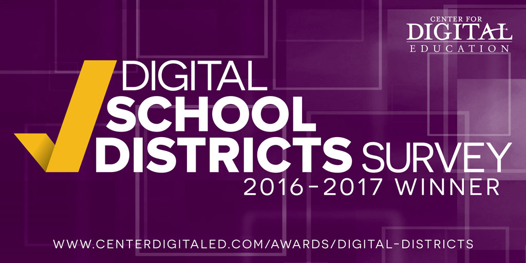 2016-2017 Digital School Districts Survey Winner