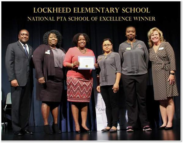 Lockheed Elementary PTA Named National PTA School of Excellence Award