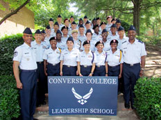 AFJROTC Converse College Awards