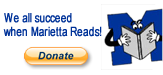 We All Succeed When Marietta Reads!