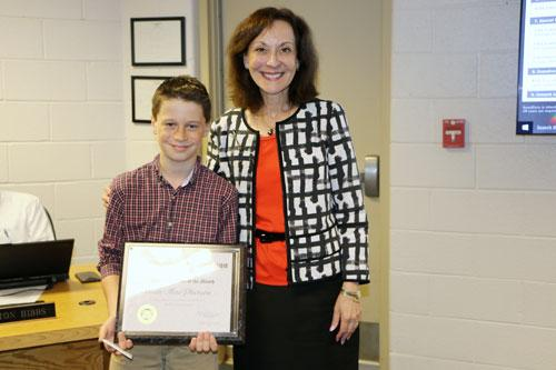 Student of the Month Sean MacPherson